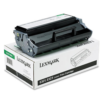 Lexmark 12A7405 Original Black Return Program Toner Cartridge High Yield