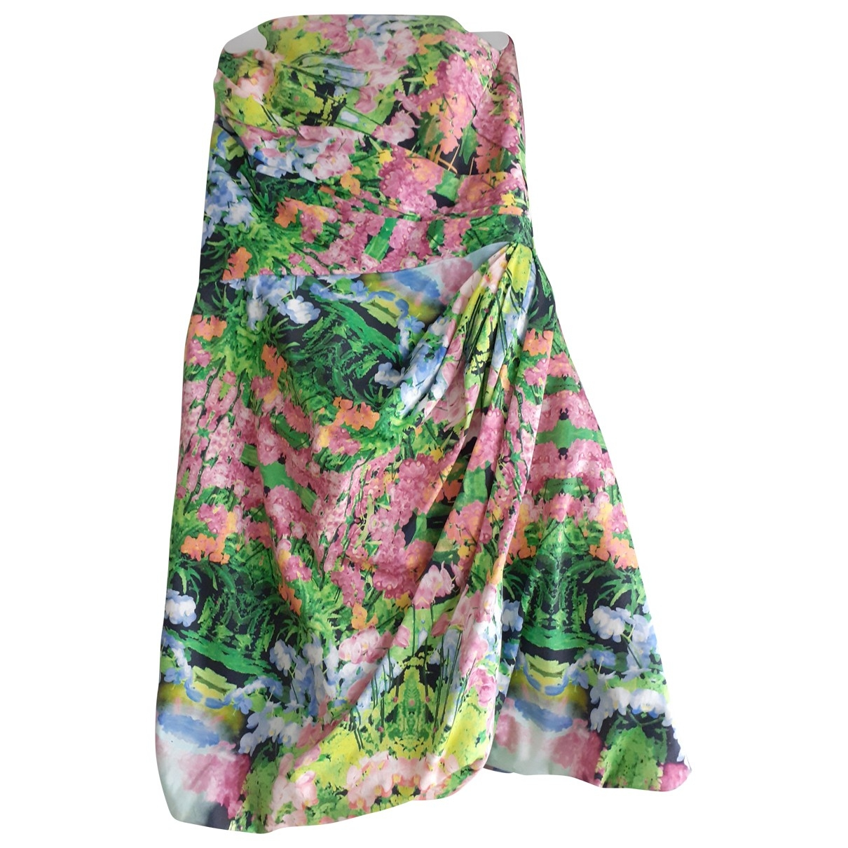 Zara \N Multicolour Cotton dress for Women M International