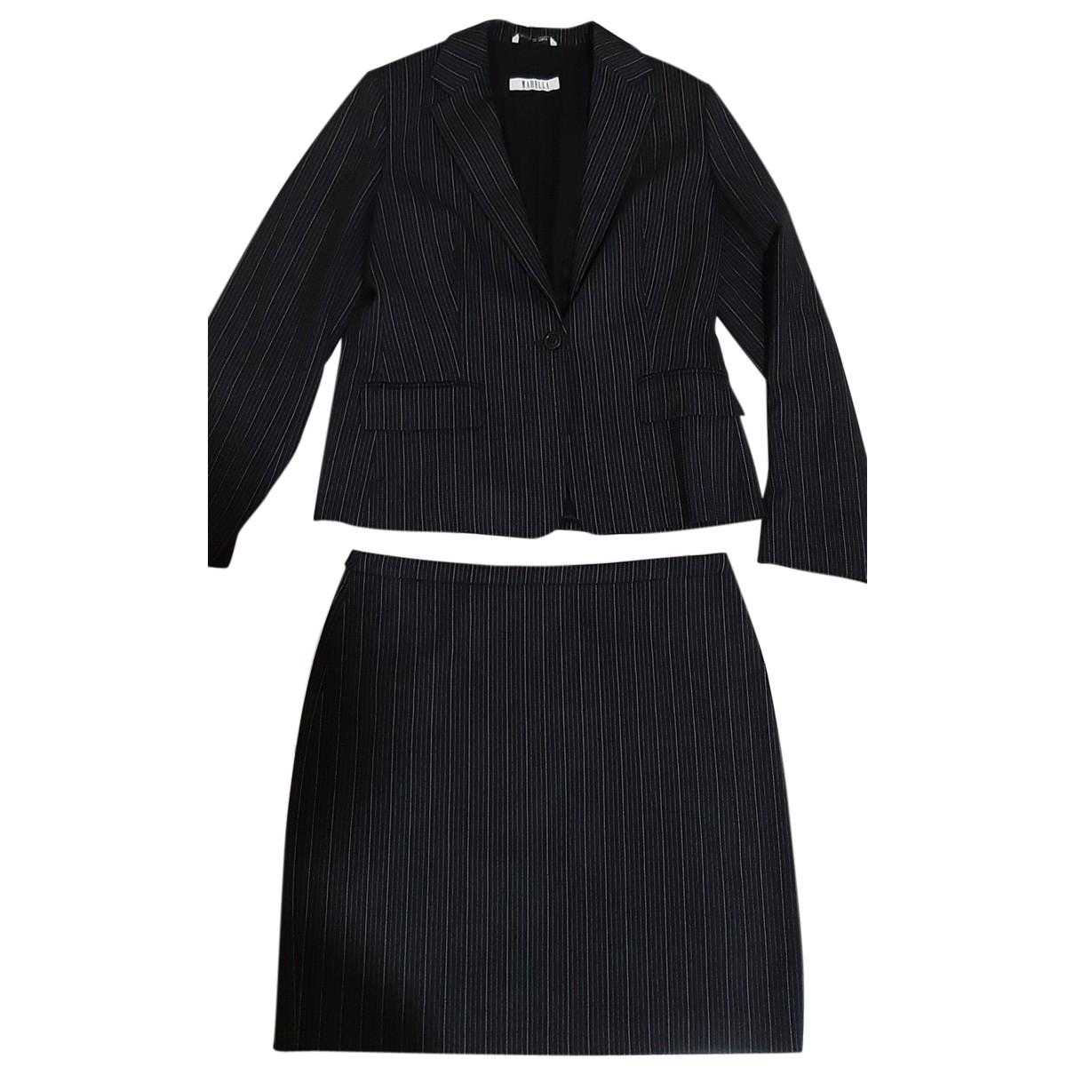 Marella - Veste   pour femme en laine - noir
