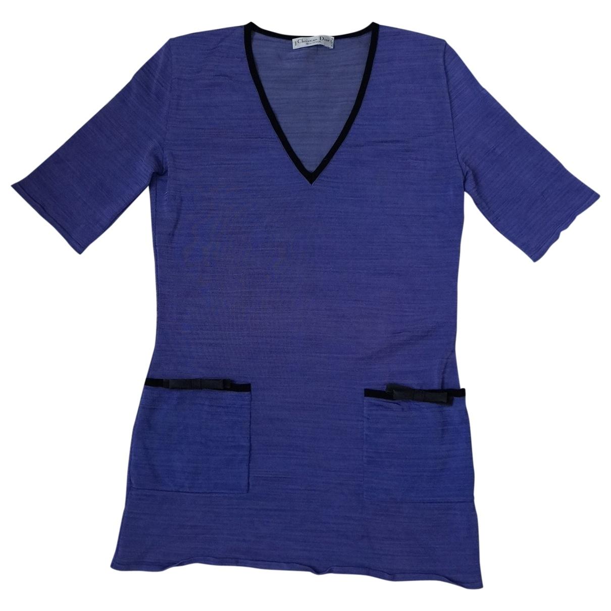 Dior \N Kleid in  Lila Viskose