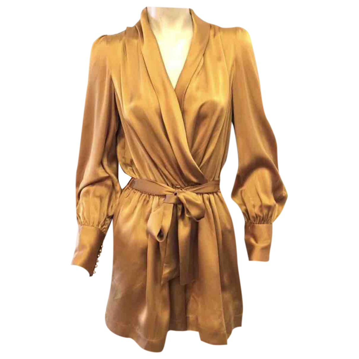 Zimmermann N Brown Silk jumpsuit for Women 38 FR