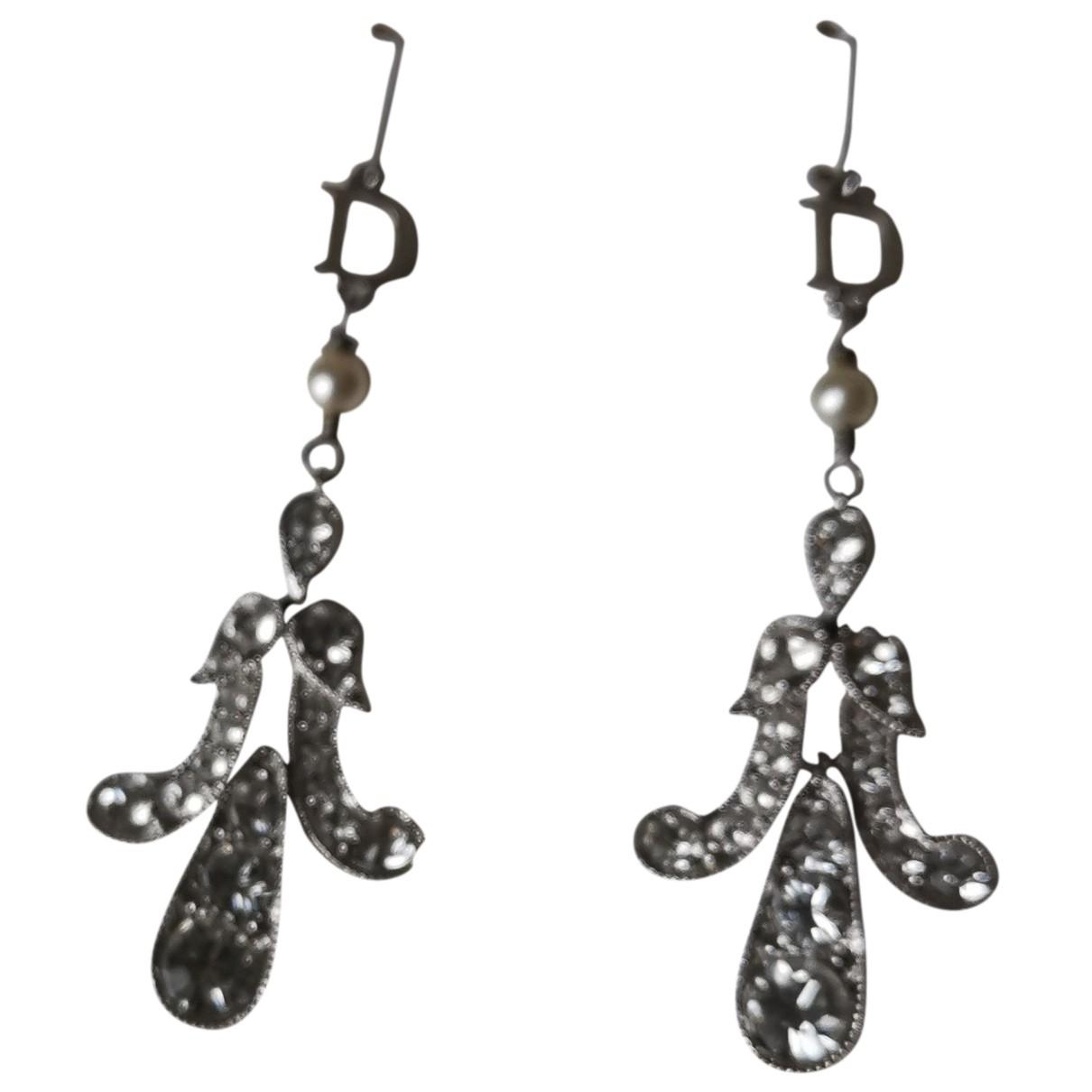 Dior - Boucles doreilles   pour femme en acier - argente