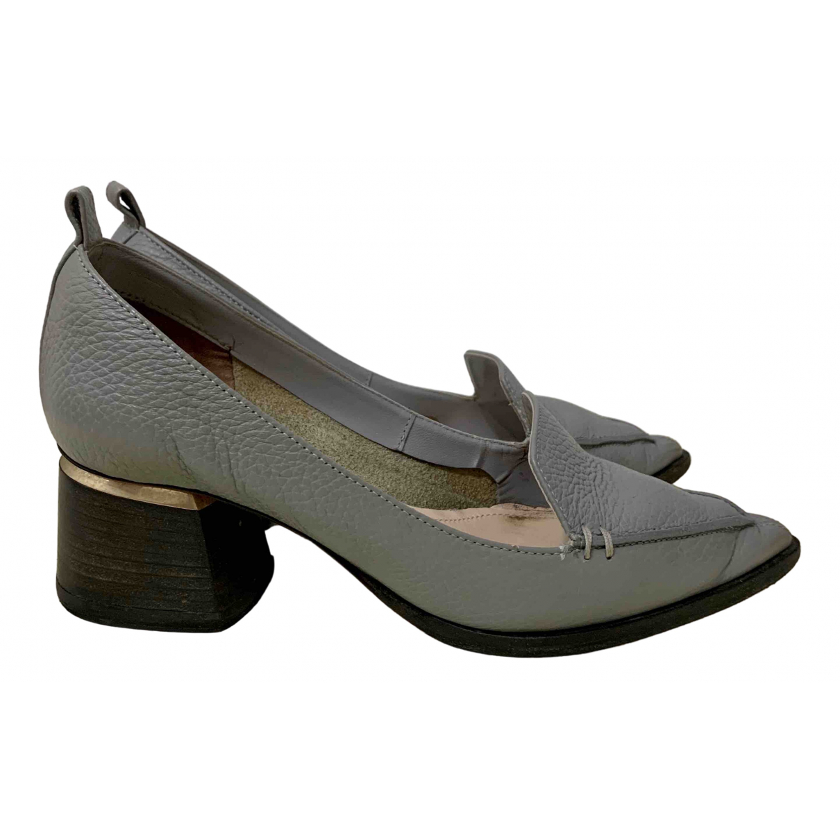 Nicholas Kirkwood \N Grey Leather Heels for Women 35 EU