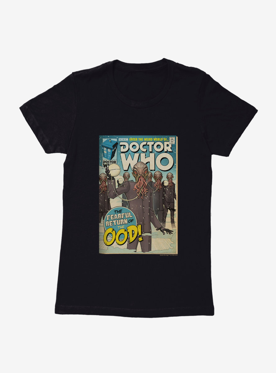 Doctor Who Return Of The Ood Comic Womens T-Shirt