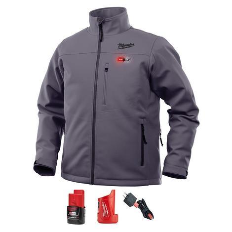 Milwaukee M12™ Heated ToughShell™ Jacket Kit S (Gray)