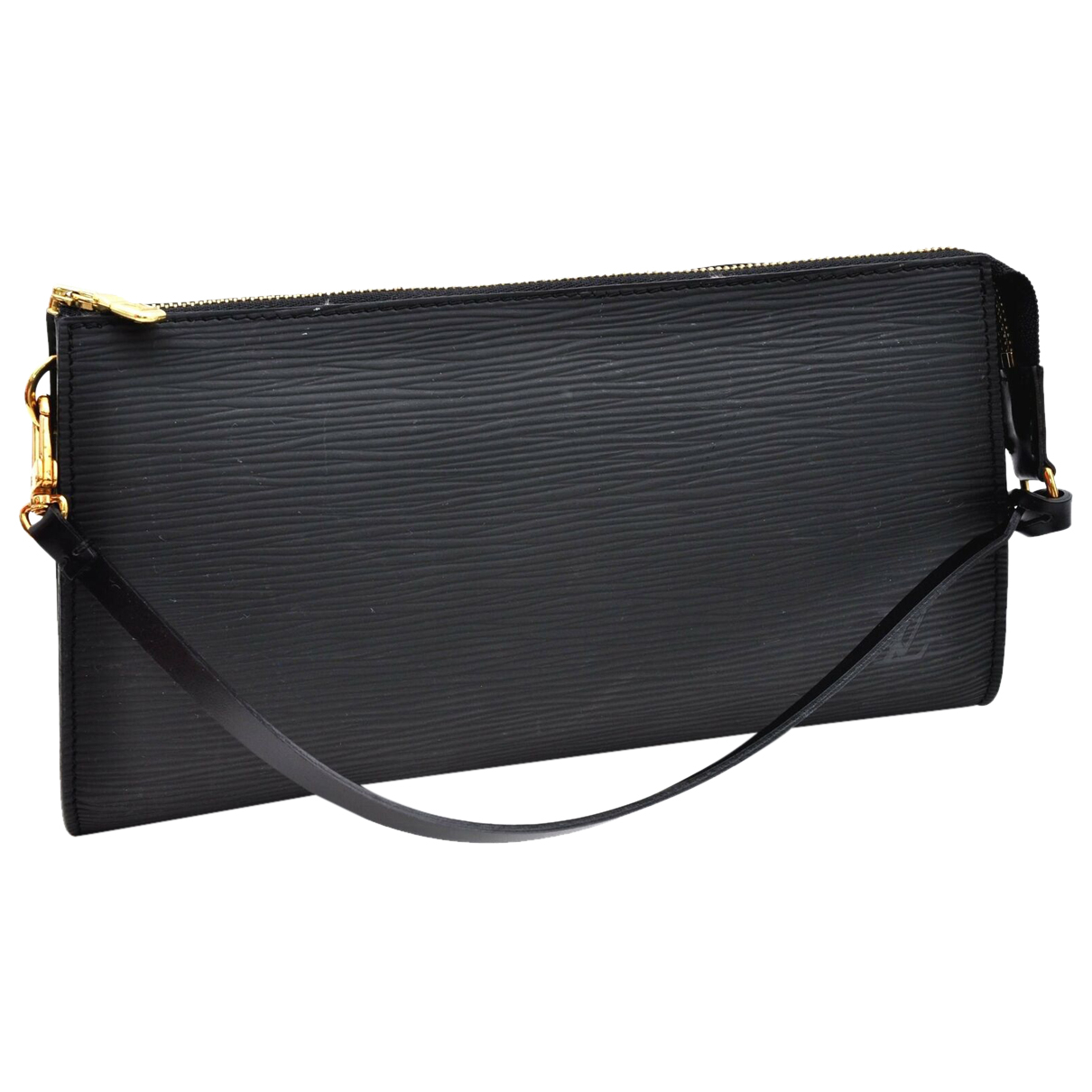 Louis Vuitton N Black Leather Clutch bag for Women N