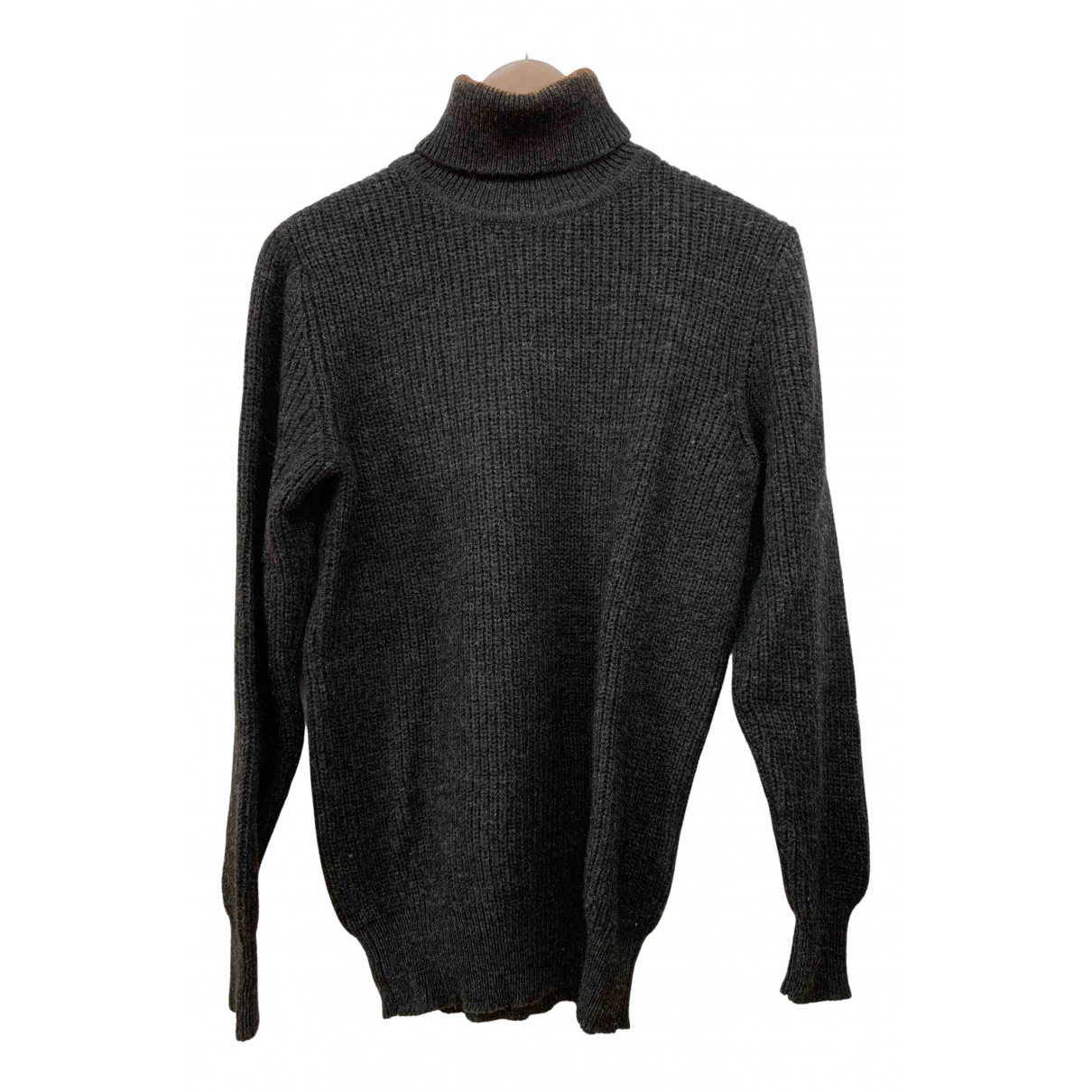 Iro \N Pullover in  Anthrazit Wolle