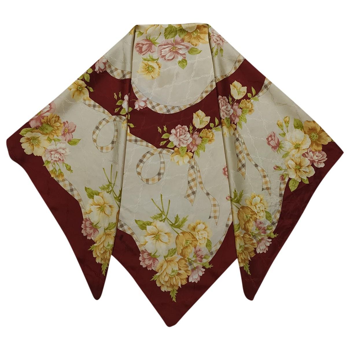 Aquascutum \N Multicolour Silk scarf for Women \N