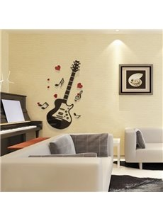 Extra Large Guitar Playing Music 3D Removable Wall Sticker