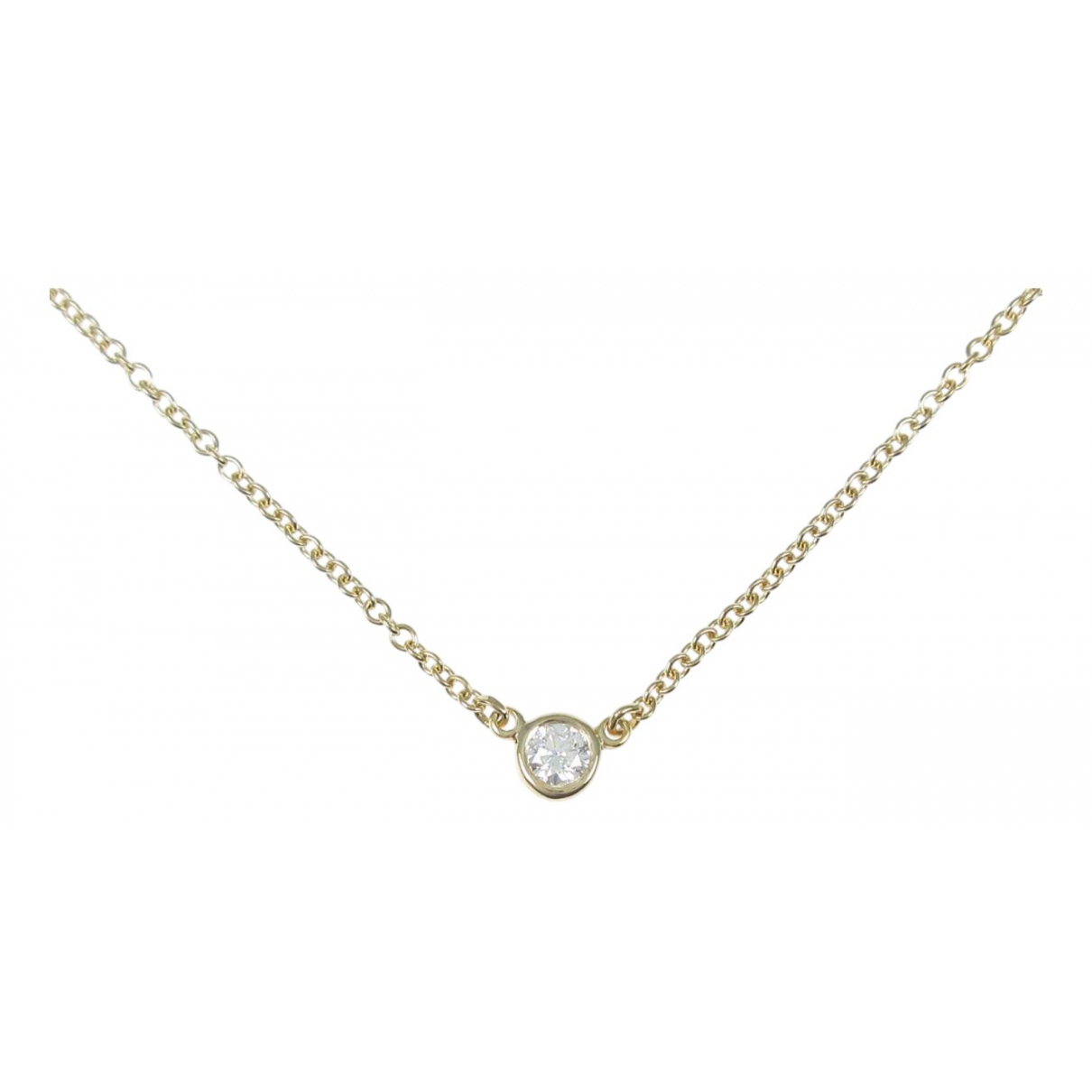 Tiffany & Co \N Yellow Yellow gold necklace for Women \N