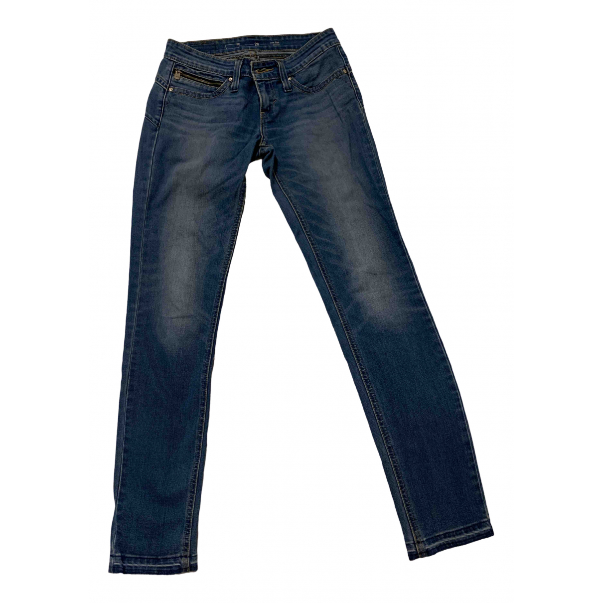 Levi's \N Blue Denim - Jeans Jeans for Women 28 US