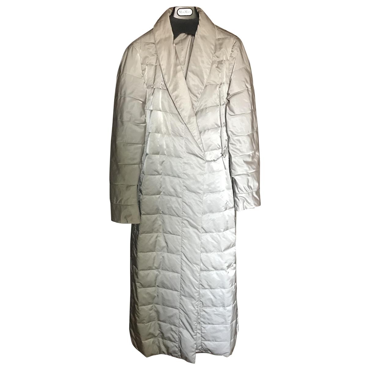 Max Mara 's \N Beige coat for Women 42 IT