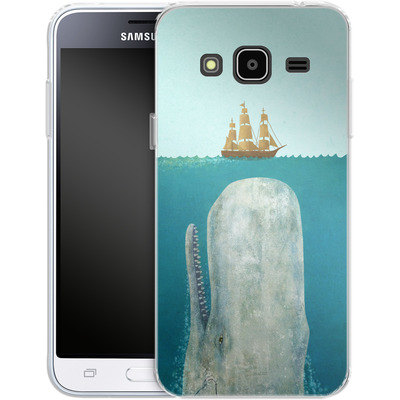 Samsung Galaxy J3 (2016) Silikon Handyhuelle - The Whale von Terry Fan