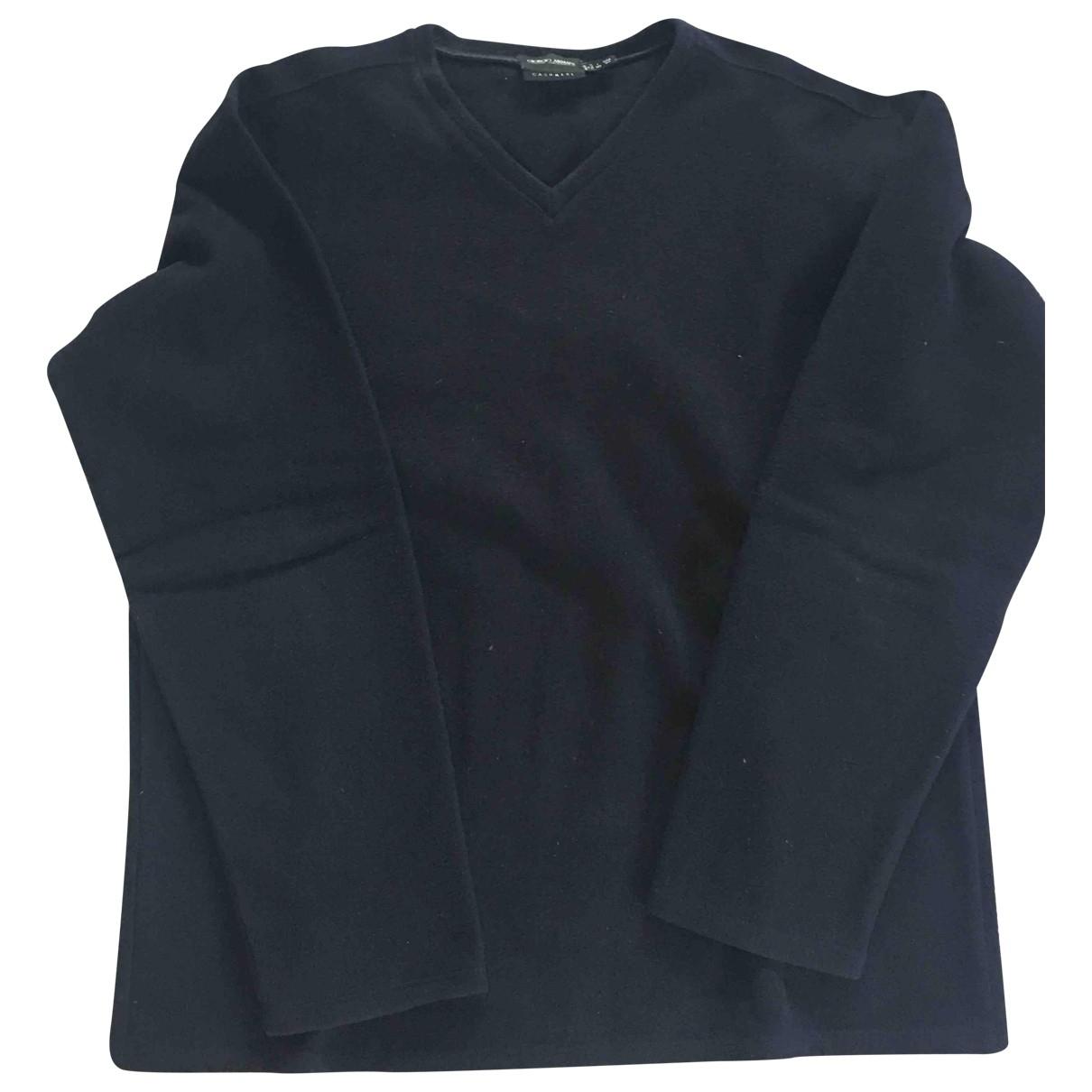 Giorgio Armani \N Pullover.Westen.Sweatshirts  in  Blau Kaschmir