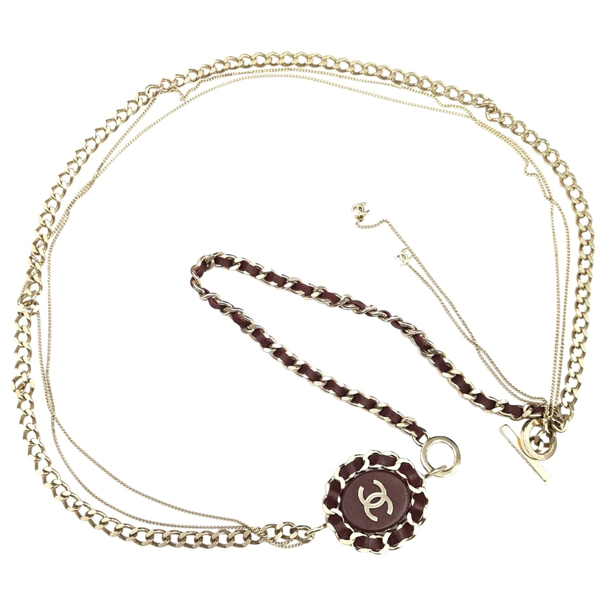 Chanel CC Silver Metal Long necklace for Women \N