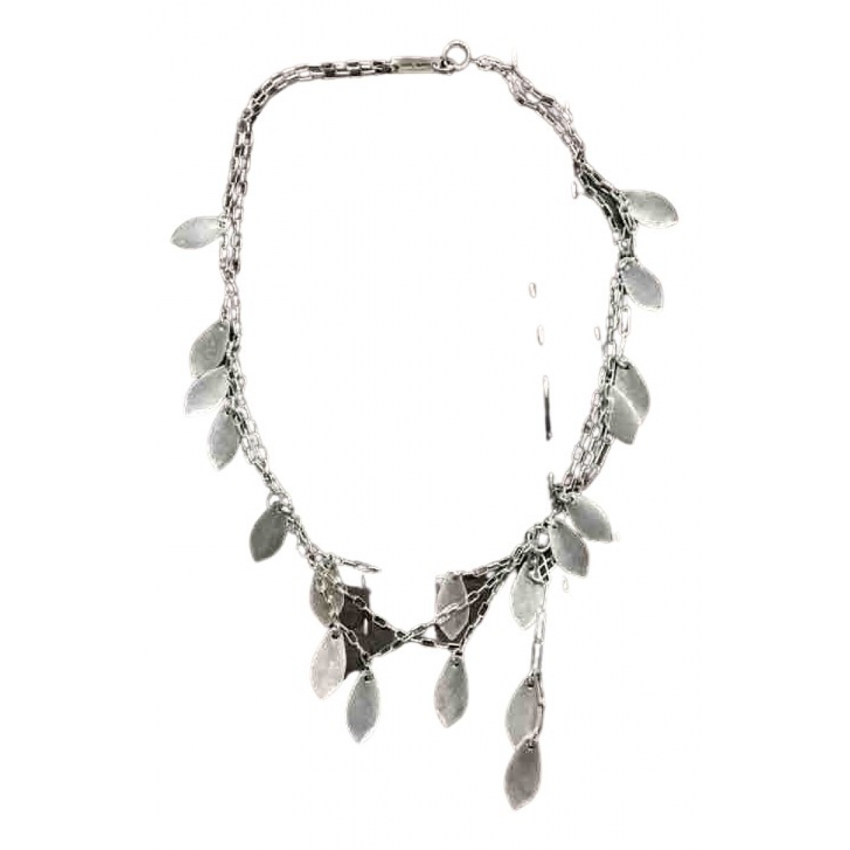 Isabel Marant N Silver Metal necklace for Women N