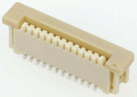 Molex Easy-On 52030 Series 1mm Pitch 18 Way Straight Female FPC Connector, ZIF Vertical Contact (10)