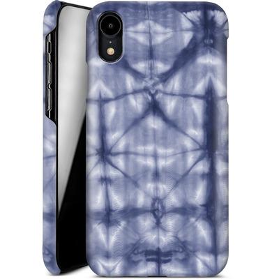 Apple iPhone XR Smartphone Huelle - Tie Dye 2 Navy von Amy Sia