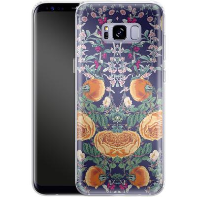 Samsung Galaxy S8 Plus Silikon Handyhuelle - Midnight Spring von Zala Farah