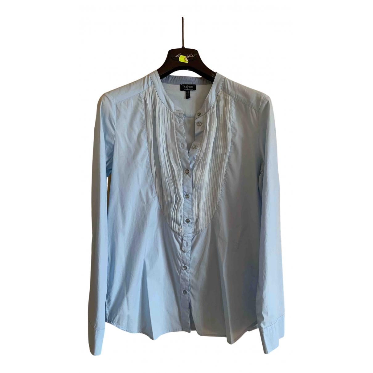 Armani Jean - Pull   pour femme en coton - turquoise