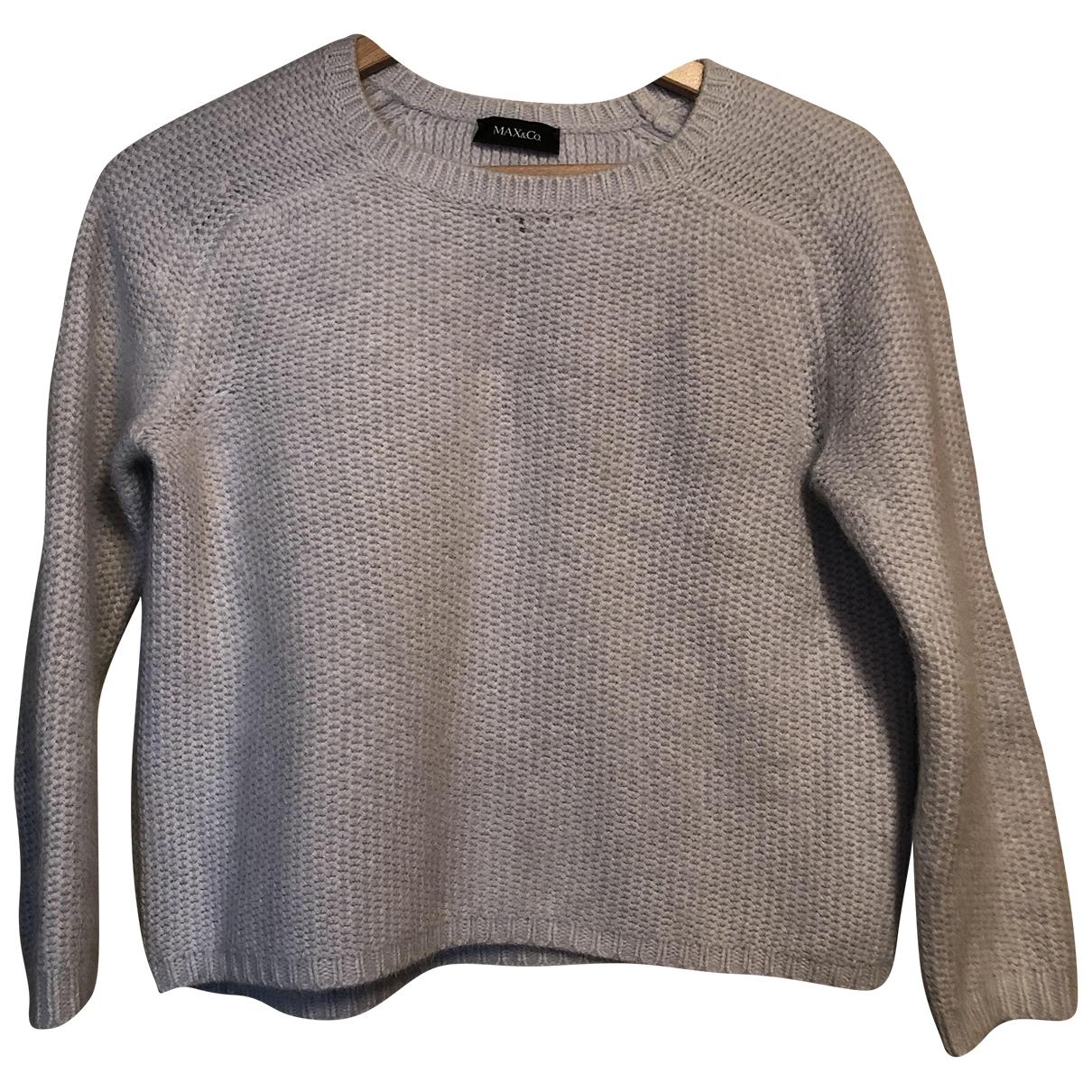 Max & Co - Pull   pour femme en laine - bleu