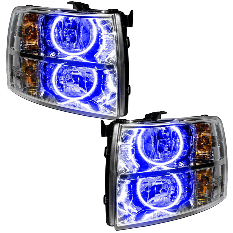Oracle Lighting 7007-002 2007-2013 Chevrolet Silverado SMD HL - Round Style