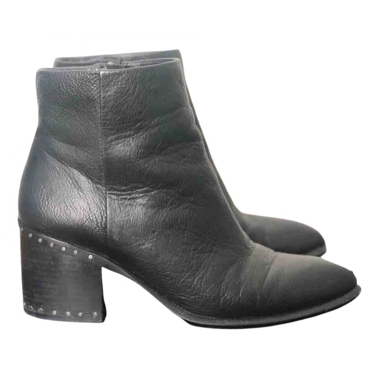 Vince Camuto \N Stiefel in  Schwarz Leder