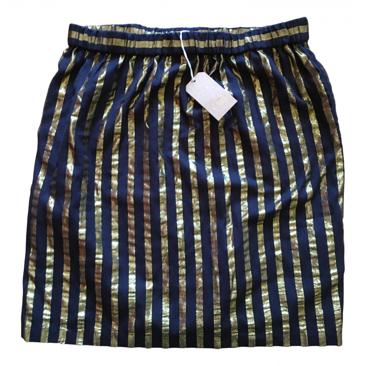 Des Petits Hauts \N Multicolour Cotton skirt for Women 42 IT