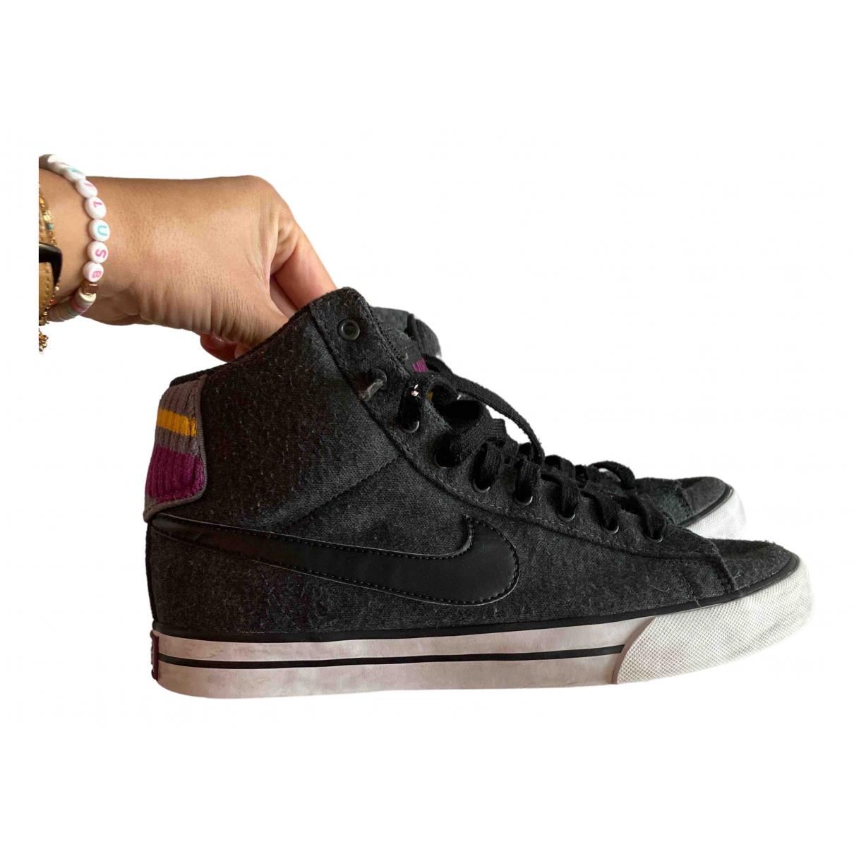 Nike Blazer Sneakers in  Anthrazit Tweed