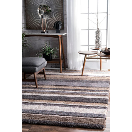 nuLoom Hand Tufted Classie Shag Rug, One Size , Multiple Colors