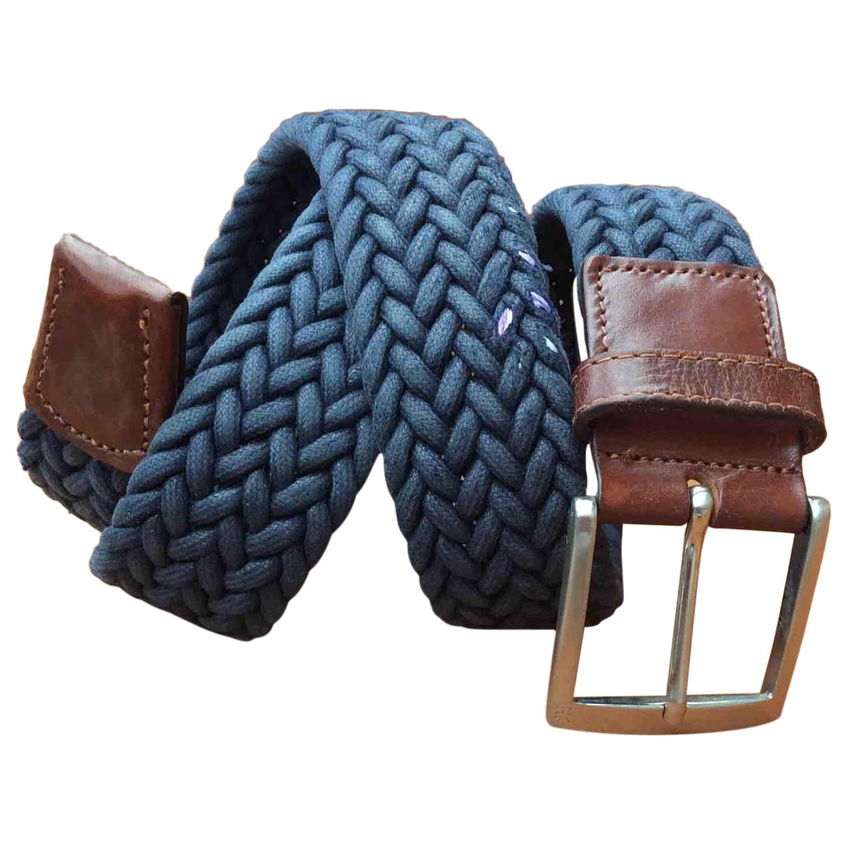 Carolina Herrera N Blue Cloth belt for Men 90 cm