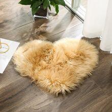 Faux Fur Heart Carpet