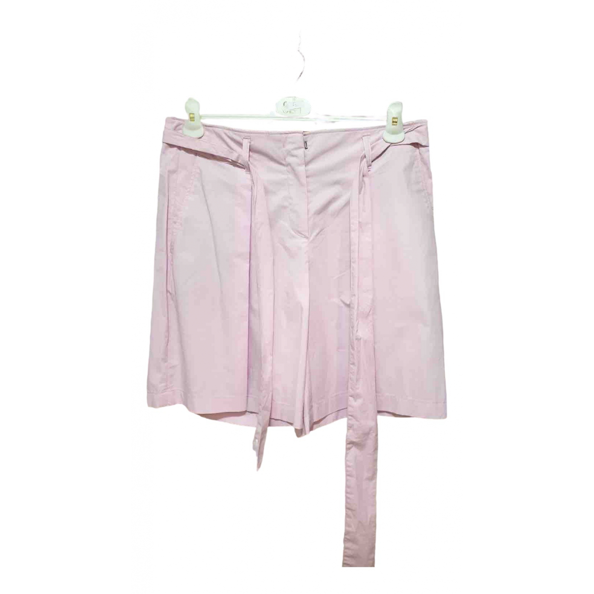 Marc Cain \N Shorts in  Rosa Baumwolle