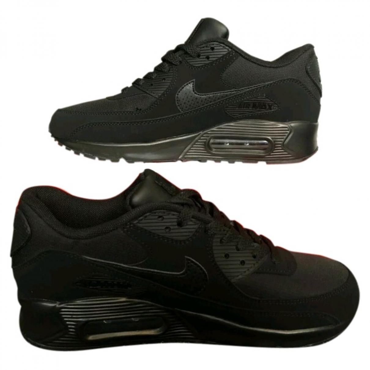 Nike - Baskets Air Max 90 pour homme en suede - noir