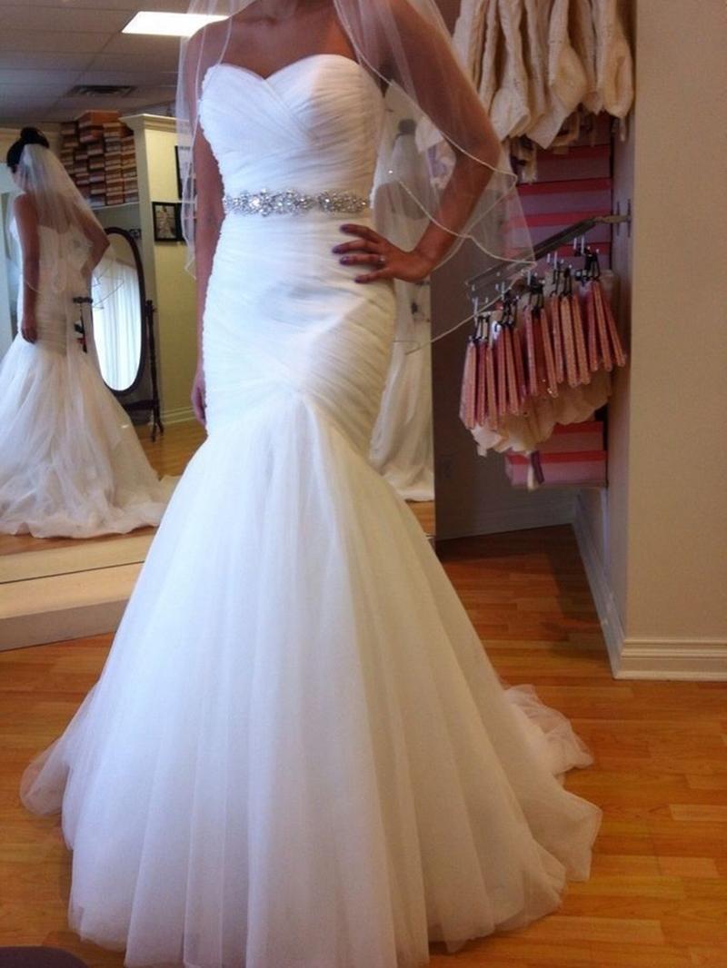 Ericdress Sweetheart Beading Mermaid Wedding Dress
