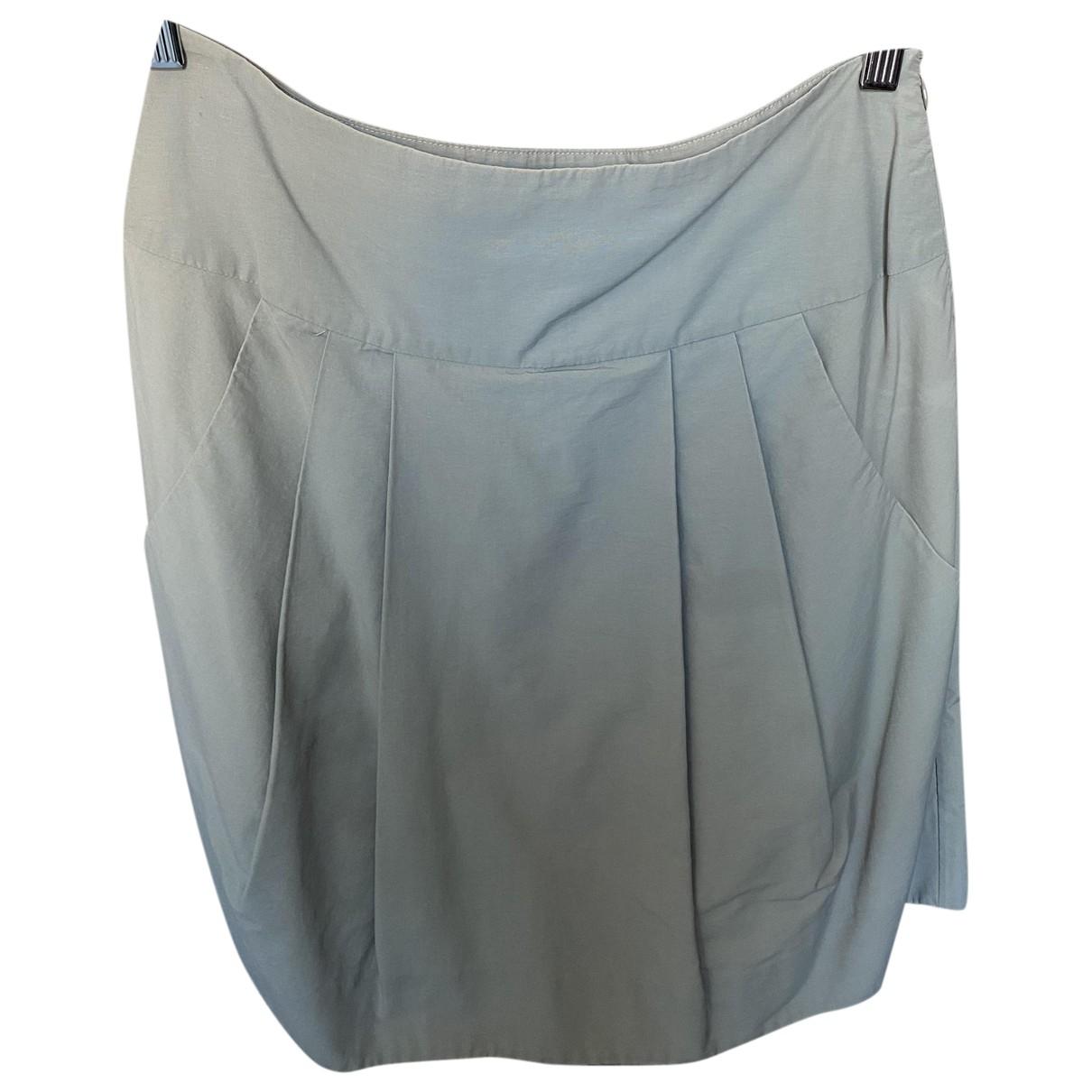 Marni - Jupe   pour femme en coton - ecru