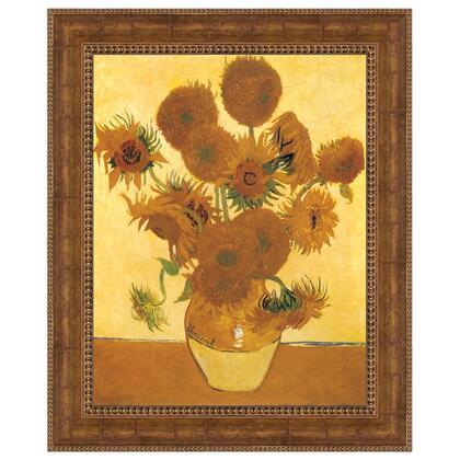 DA4591 13.5X17 Sunflowers 1888