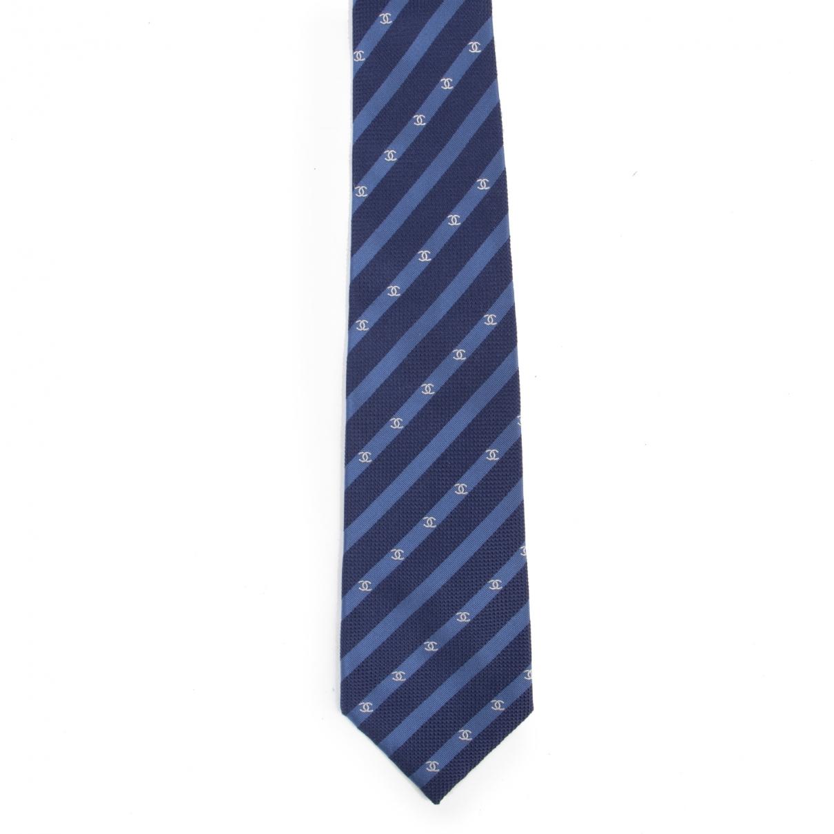 Chanel \N Blue Ties for Men \N