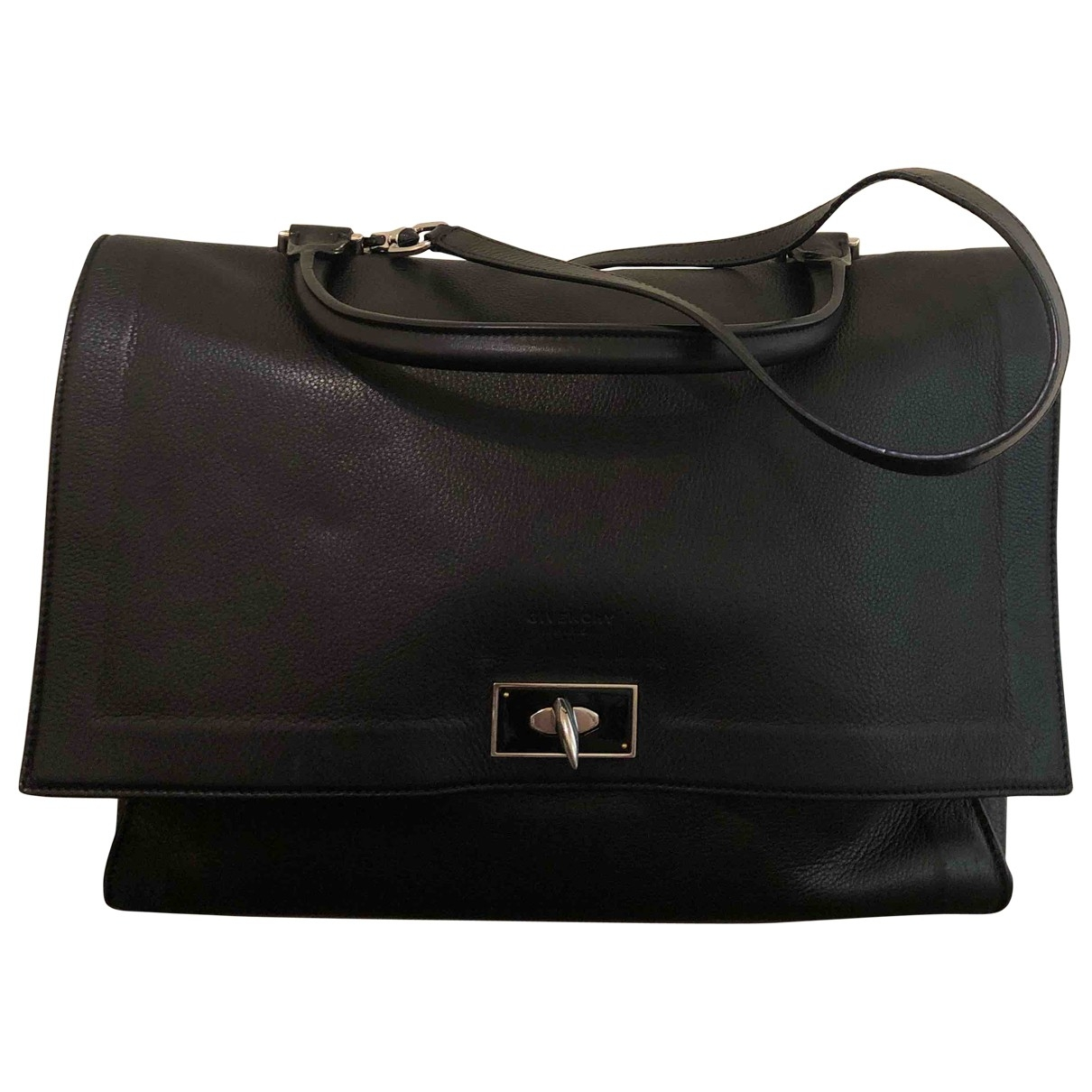Givenchy Shark Black Leather handbag for Women \N