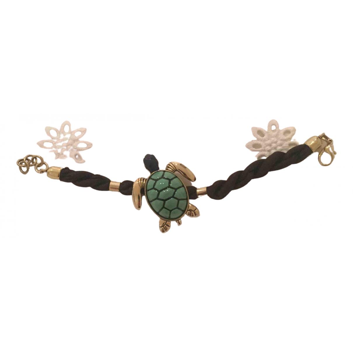 Bimba Y Lola - Bracelet   pour femme en plaque or - multicolore