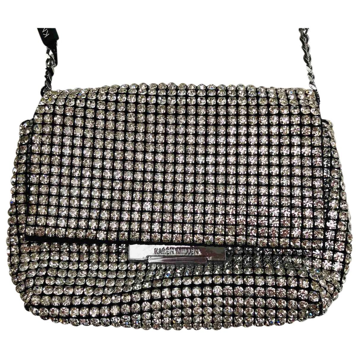 Karen Millen N Silver Glitter handbag for Women N