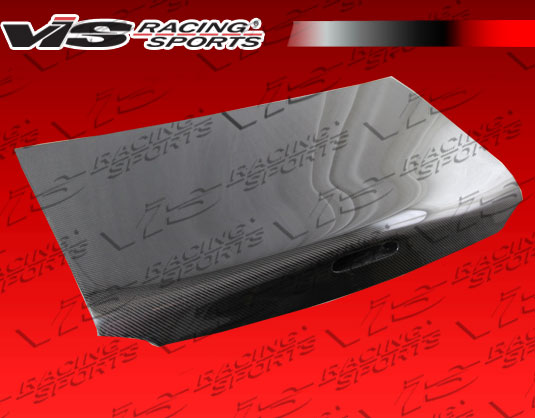 VIS Racing 99MZMX52DOE-020C OEM Style Carbon Fiber Trunk Mazda Miata 99-05