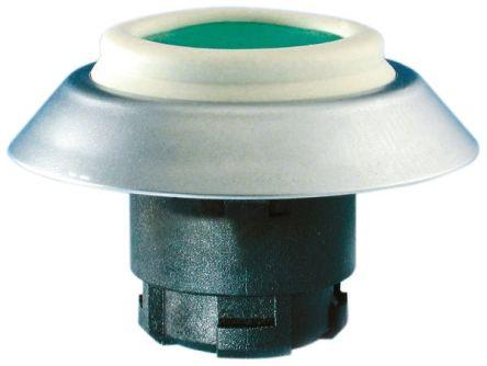 Schmersal Round Black Push Button Head, Elan Series, 22mm Cutout, Round