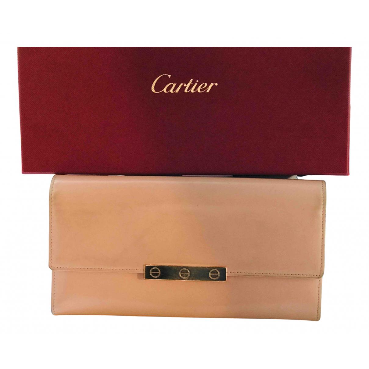 Cartera de Cuero Cartier
