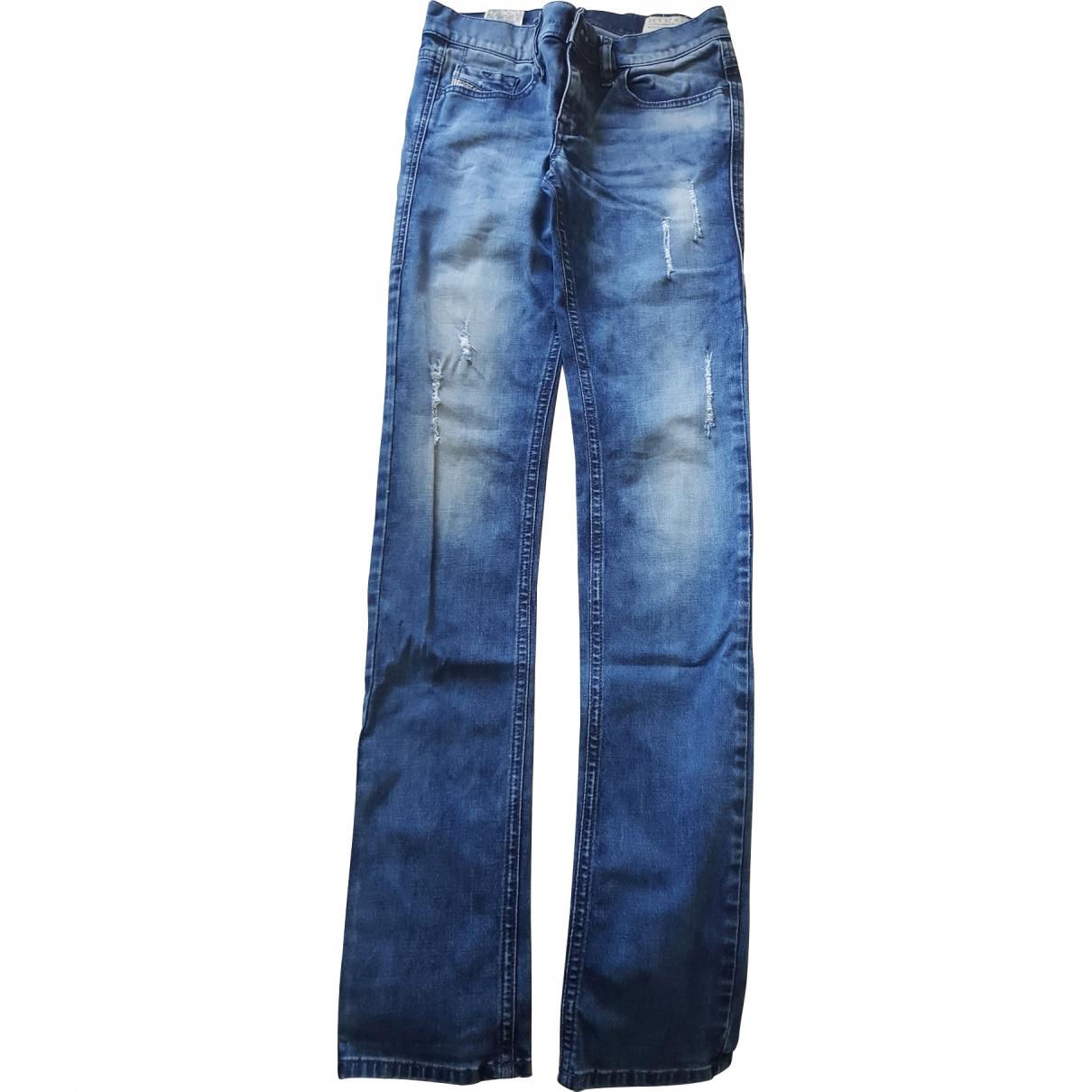 Diesel \N Blue Denim - Jeans Jeans for Women 32 FR