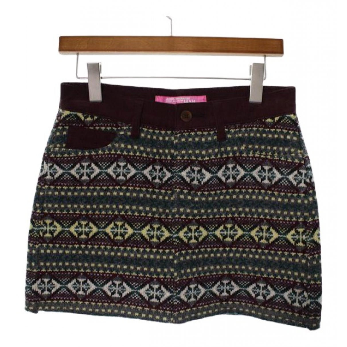 Comme Des Garcons N Red Wool skirt for Women S International