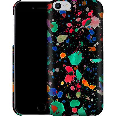 Apple iPhone 6s Plus Smartphone Huelle - Colourful Splatter von Amy Sia