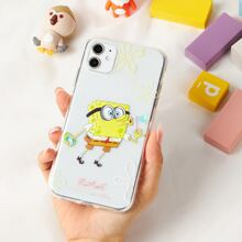 ROMWE X SpongeBob Clear iPhone Case