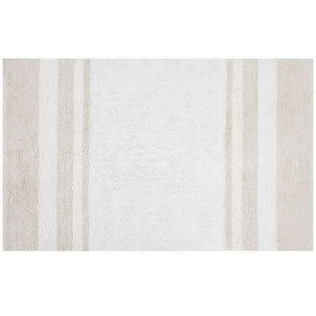 Madison Park Spa Reversible Bath Rug, One Size , Beige