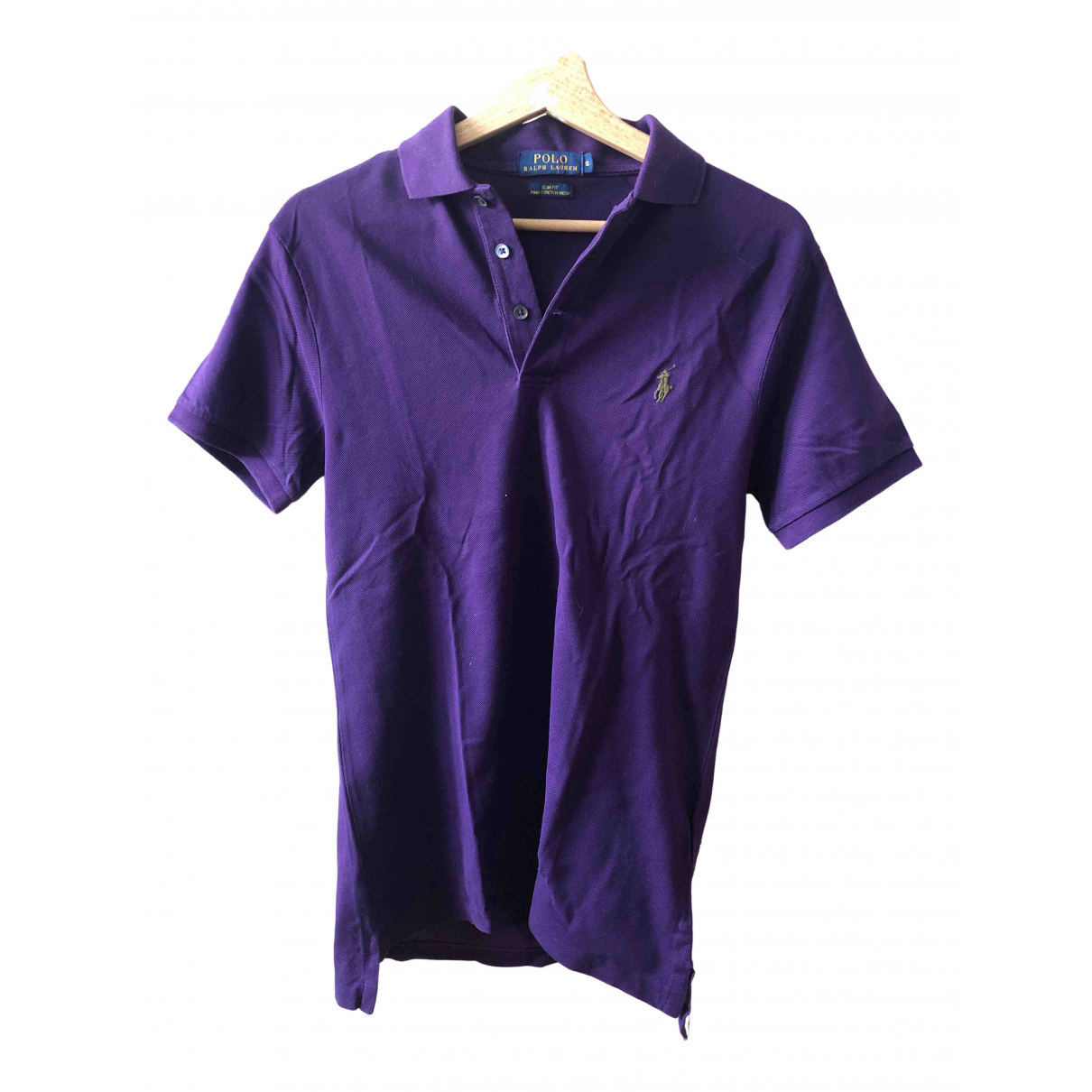 Polo Ralph Lauren \N Poloshirts in  Lila Baumwolle